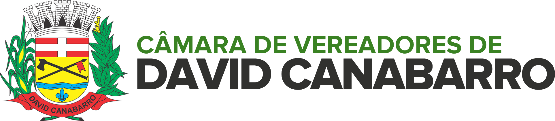 Logotipo da Câmara de David Canabarro